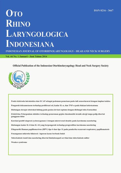 Volume 44, No. 1 January - June 2014